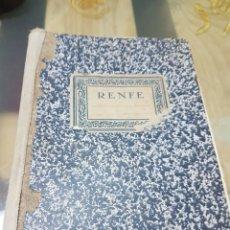Documentos antiguos: BLOC RENFE . Lote 79205811
