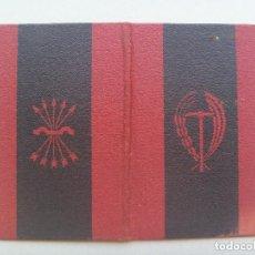 Documentos antiguos: CARNET SINDICATO VERTICAL. CENTRAL NACIONAL-SINDICALISTA . SEVILLA, 1946. Lote 80372761