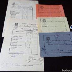 Documentos antiguos: LOTE ESCOLAR AÑOS 20 ESCUELAS PIAS. INSIGNIA. CATOLICO. ESCOLAPIOS MADRID. GUERRA CIVIL. REPUBLICA. Lote 80838232