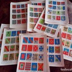Documentos antiguos: HERALDICA-ESCUDOS APELLIDOS-COLOR-30 LAMINAS DISTINTAS-SOLAR V. NAVARRO:PUIG-SALAS-PINA-PUEBLA-PEÑA.. Lote 81128744