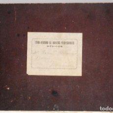 Documentos antiguos: MONOVAR (ALICANTE) LIBRO-REGISTRO DE INGRESOS PROFESIONALES - MÉDICOS - DE 1923 A 1958. Lote 81701816