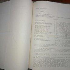 Documentos antiguos: RECOPILATARIO DE ACTAS, ACUERDOS, DE SESIONES AYUNTAMIENTO ALCOY AÑO 1972.. Lote 83292216