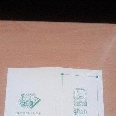 Documentos antiguos: ORIHUELA - PUB HORUS - CAFES BAHIA - INVITACION. Lote 83702960