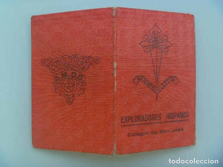 Documentos antiguos: CARNET DE BOY SCOUTS, COLEGIO SAN JOSE DE SEVILLA, EXPLORADORES HISPANOS. 1947, INGRESO 1935 - Foto 2 - 83812396
