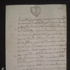 Documentos antiguos: GOBIERNO DE BARCELONA - DOCUMENTO ANTIGUO-AÑO 1820 -VER FOTOS (V-10.642). Lote 83942032
