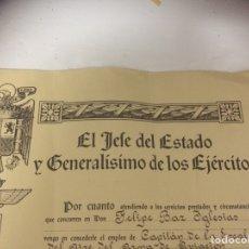 Documentos antiguos: NOMBRAMIENTO. Lote 84231695