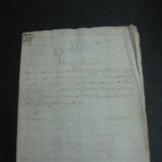 Documentos antiguos: VENTA JUDICIAL. TRASLACION DE DOMINIO CASA SITA EN LA VILLA DE CAPELLADES. IGUALADA 20 OCTUBRE 1860.. Lote 84919812