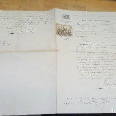 Documentos antiguos: NOMBRAMIENTO DE AUXILIAR EN INSTITUTO JOVELLANOS DE GIJON, UNIVERSIDAD LITERARIA OVIEDO 1891. Lote 84922204