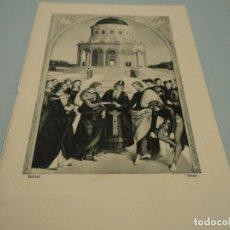 Documentos antiguos: MISSA DE CASAMENT EN LA BASILICA DE LA MERCED DE BARCELONA 1956. Lote 85256100