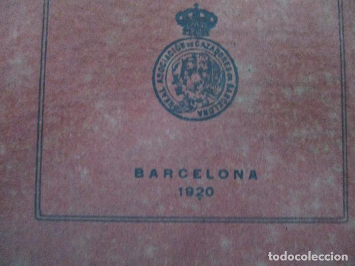 Documentos antiguos: Real Asociación de Cazadores de Barcelona - Reglamentos y Estatutos - Año 1920 - Foto 3 - 86088168