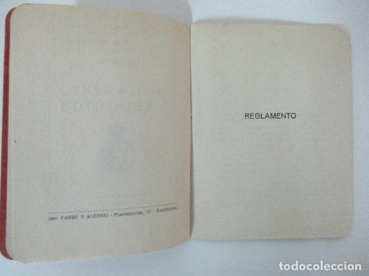 Documentos antiguos: Real Asociación de Cazadores de Barcelona - Reglamentos y Estatutos - Año 1920 - Foto 5 - 86088168