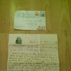 Documentos antiguos: ANTIGUA CARTA MANUSCRITA DEL AÑO 1949. Lote 86493560