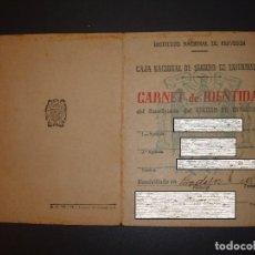 Documentos antiguos: CARNET DE IDENTIDAD ANTIGUO, 1945. Lote 87036444