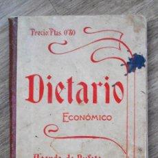 Documentos antiguos: DIETARIO ECONÓMICO AGENDA DE BUFETE PARA 1904 - HENRICH Y C. BARCELONA. Lote 90351600