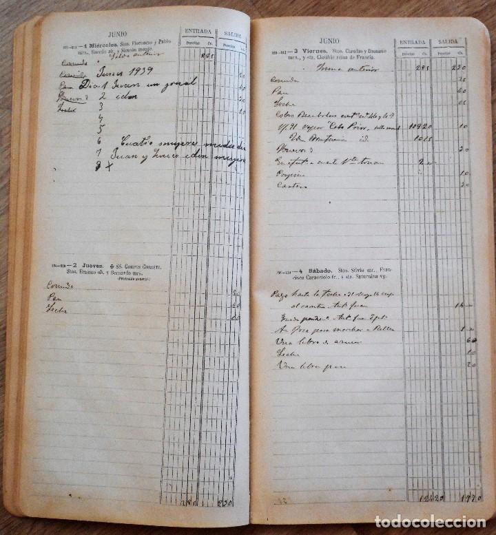 Documentos antiguos: DIETARIO ECONÓMICO AGENDA DE BUFETE PARA 1904 - HENRICH Y C. BARCELONA - Foto 5 - 90351600