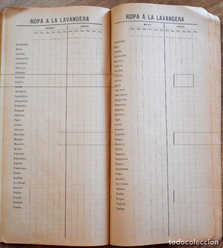 Documentos antiguos: DIETARIO ECONÓMICO AGENDA DE BUFETE PARA 1904 - HENRICH Y C. BARCELONA - Foto 7 - 90351600