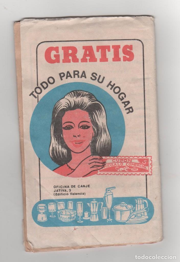 Documentos antiguos: 1 LIBRETA CUPÓN REGALO COMERCIAL - COMPLETA, CON SELLOS PEGADOS- AÑOS 60 - Foto 4 - 90865905