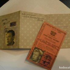 Documentos antiguos: SEGUNDA GUERRA MUNDIAL CARNET DE IDENTIFICACION CREADO POR JACOBUS LAMBERTUS LENTZ Y LOS NAZIS (17). Lote 91023420