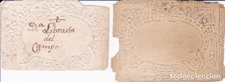 2 PAPELES SIGLO XVIII (Coleccionismo - Documentos - Otros documentos)
