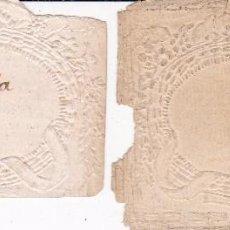 Documentos antiguos: 2 PAPELES SIGLO XVIII. Lote 92201775