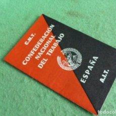 Documentos antiguos: RARO LIBRETO CNT CONFEDERACION NACIONAL DEL TRABAJO AIT FEDERACION LOCAL PARIS FRENTE LIBERTARIO. Lote 93867145