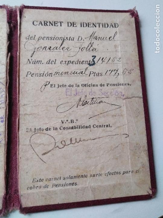 Documentos antiguos: Carnet de identidad años 30? - Foto 3 - 93968070