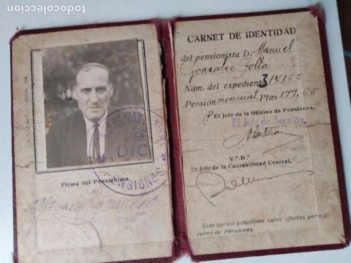 Documentos antiguos: Carnet de identidad años 30? - Foto 4 - 93968070