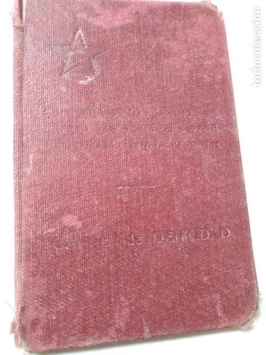 Documentos antiguos: Carnet de identidad años 30? - Foto 5 - 93968070