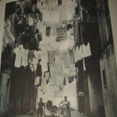 Documentos antiguos: BARACALDO BILBAO VIZCAYA ESCENA LAMINA HUECOGRABADO AÑOS 50. Lote 94178805
