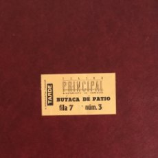 Documentos antiguos: ENTRADA TEATRO PRINCIPAL ZARAGOZA. 1994. Lote 94375326