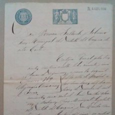 Documentos antiguos: 1902, MADRID, DOCUMENTO MANUSCRITO EN PAPEL TIMBRADO. Lote 94621435