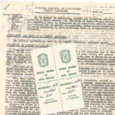 Documentos antiguos: CIRCULAR SOCIO SOCIEDAD ESPAÑOLA ILUSIONISMO CIRCULO ESPAÑOL ARTES MAGICAS S.E.I MAGIA ILUSIONISMO . Lote 95104135