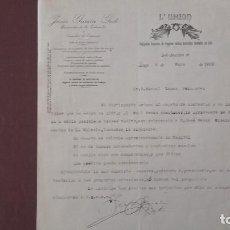 Documentos antiguos: UNIÓN SEGUROS INFORME. Lote 95288143