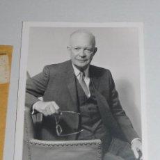 Documentos antiguos: (M) AUTOGRAFO ORGINAL DEL GENERAL DWIGHT EISENHOWER , PRESIDENTE DE LOS ESTADOS UNIDOS 1953 - 1961. Lote 95304067