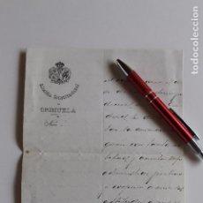 Documentos antiguos: ALCALDIA CONSTITUCIONAL DE ORIHUELA, 1909, FIRMA ALCALDE A MAGISTRADO AUDIENCIA DE JAEN,. Lote 95328179