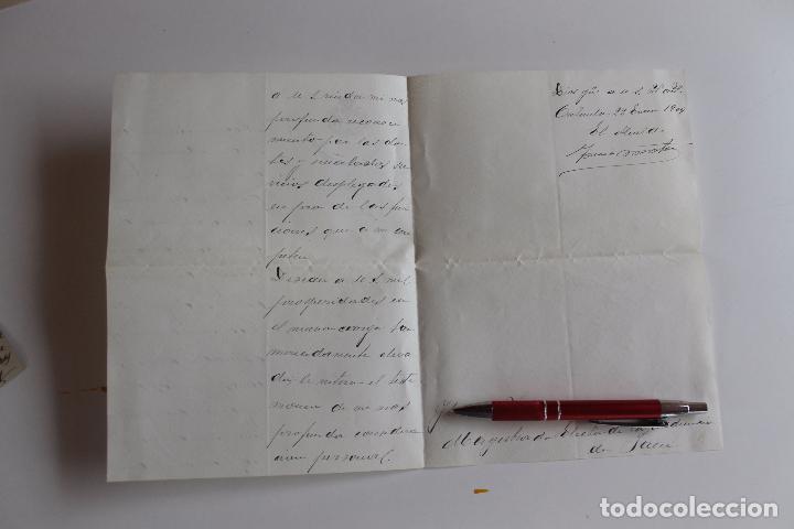 Documentos antiguos: ALCALDIA CONSTITUCIONAL DE ORIHUELA, 1909, FIRMA ALCALDE A MAGISTRADO AUDIENCIA DE JAEN, - Foto 3 - 95328179