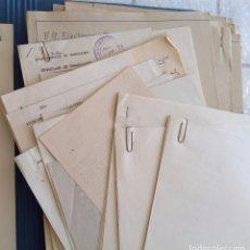 Documentos antiguos: 1931 BARCELONA * PROYECTO Y 13 PLANOS S. RUBIO TUDURI * FERROCARRIL METROPOLITANO METROTRANSVERSAL. Lote 95396603