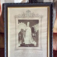 Documentos antiguos: BENDICION APOSTOLICA INDULGENCIA PLENARIA LEON XII. Lote 95626035
