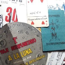 Documentos antigos: MAGIA - ILUSIONISMO - DOSSIER CARPETA - 1950'S - ESPAÑA. Lote 95729943