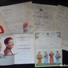 Documentos antiguos: LOTE DE VARIOS DOCUMENTOS, TELEGRAMA, MENÚ, FACTURAS, VER FOTOS. Lote 95957583