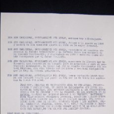 Documentos antiguos: DOCUMENTO DE PROPAGANDA CARLISTA. (CARLISTAS, CARLISMO, REQUETÉ). Lote 96397335