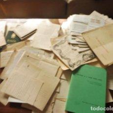 Documentos antiguos: GRAN LOTE DOCUMENTACION ANTONIO GALLEGO CAMPOY Y FAMILIA FIRMA MINISTROS JUAN DE LA CIERVA /NOBLEZA. Lote 96449107