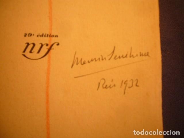 AUTOGRAFO FECHADO DE MAURICI SERRAHIMA (1902-1979). DOS DIBUJOS DE TEMA COSTERO. (Coleccionismo - Documentos - Otros documentos)