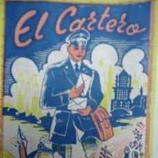 Documentos antiguos: EL CARTERO FELICITA LAS PASCUAS DE NAVIDAD .LEYENDA AL DORSO,12X8CM.MUY RARA. Lote 97779899