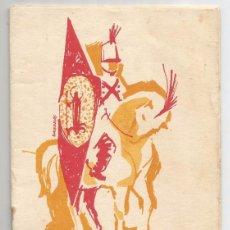 Documentos antiguos: PROGRAMA FIESTAS DE SAN MAGIN 1961 . Lote 97884155