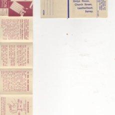 Documentos antiguos: INSTRUCCIONES DEL MECHERO RONSON. Lote 98063051