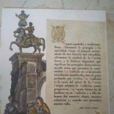 Documentos antiguos: DISCURSO DE JOSÉ CALVO SOTELO.. Lote 98786863