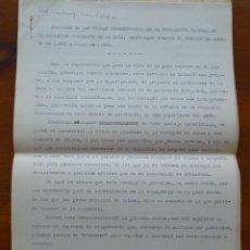 Documentos antiguos: MARRUECOS, 1946, NOVEDOSO INFORME DEMOGRÁFICO, CASAMIENTOS Y DIVORCIOS, DE LA POBLACIÓN MUSULMANA . Lote 99365275