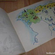 Documentos antiguos: ALBUM DE GREOGRAFÍA DE ESPAÑA - MUY ANTIGUO - DOC. ALUMNO. Lote 100405071
