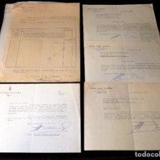 Documentos antiguos: MIGUEL RAMÓN IZQUIERDO, ALCALDE DE VALENCIA, DIPUTADO, ABOGADO, ETC. DOCUMENTOS, 5 FIRMAS. 1965-67. Lote 101092223